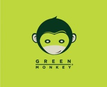 green monkey yoga logo
